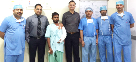 मेट्रो अस्पताल ने ने बोन एंड ज्वाइंट डे पर की निशुल्क सर्जरी