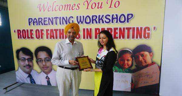 Homerton organised workshop on The Role of Father in Parenting