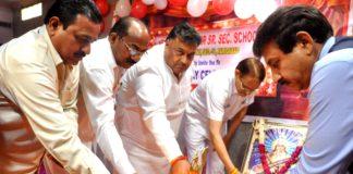 lakhan kumar singla at nvm public school program